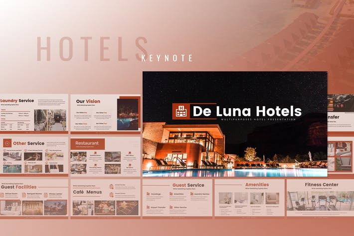Thumbnail for De Luna - Hotel Keynote Presentation