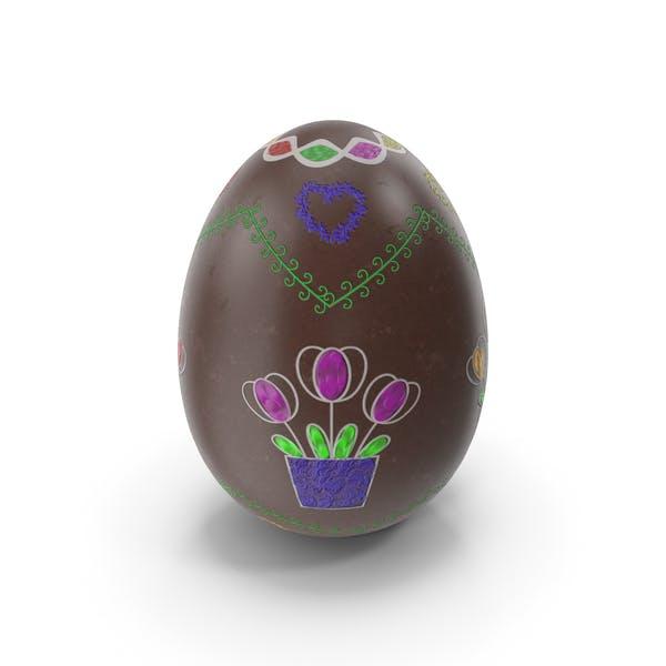 Пасхальное яйцо Снежный