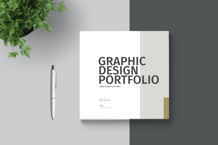 Cover Image For Graphic Design Portfolio Template