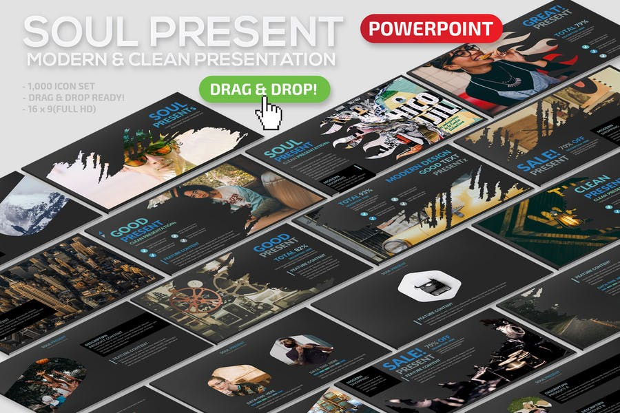 Soul Powerpoint Template