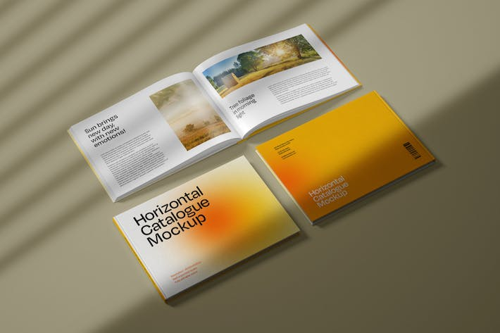 Thumbnail for Horizontal Catalogue Mockup
