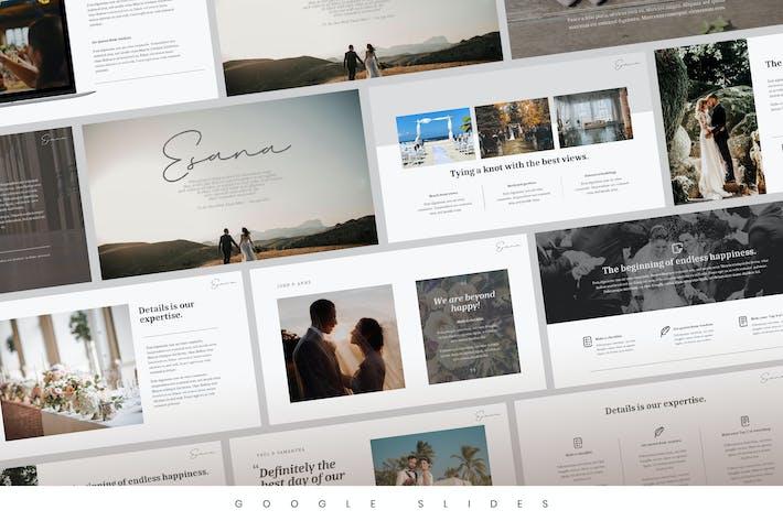 Thumbnail for Esana - Elegant Google Slides
