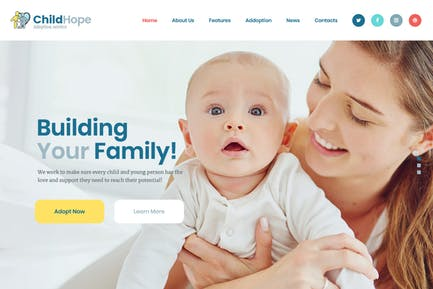 ChildHope | Child Adoption Service & Charity WP