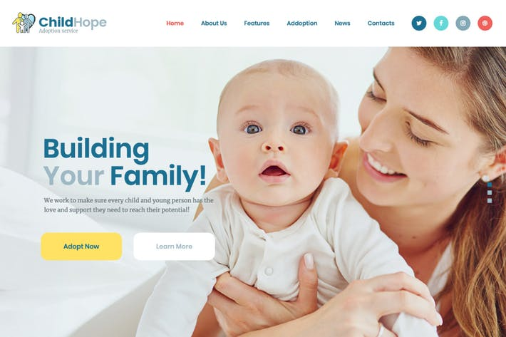 Thumbnail for ChildHope | Child Adoption Service & Charity WP