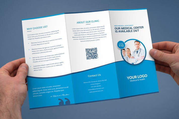 Thumbnail for Brochure – Medical Tri-Fold