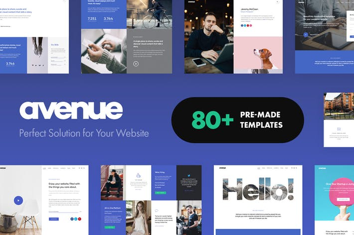 Thumbnail for Avenue - Creative Multi-Purpose WordPress Theme