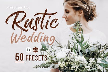 Rustic Wedding Presets for Lightroom & Photoshop