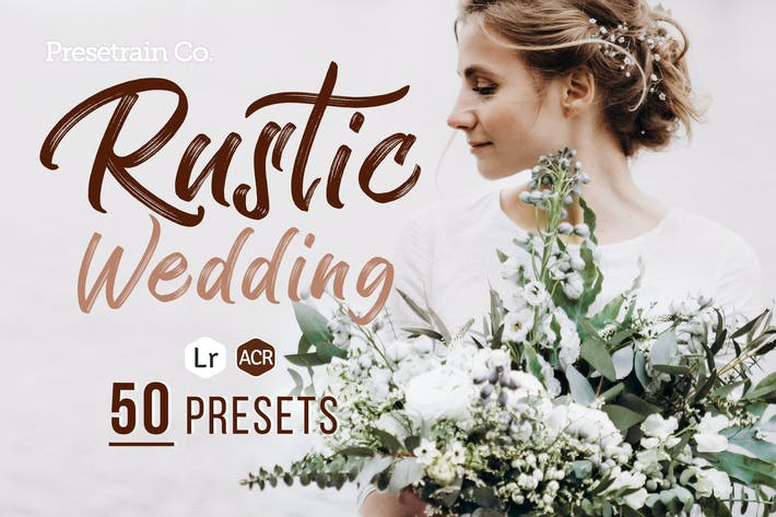 Thumbnail for Rustic Wedding Presets for Lightroom & Photoshop