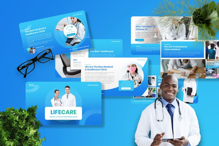 Lifecare - Medical&Healthcare Powerpoint Template