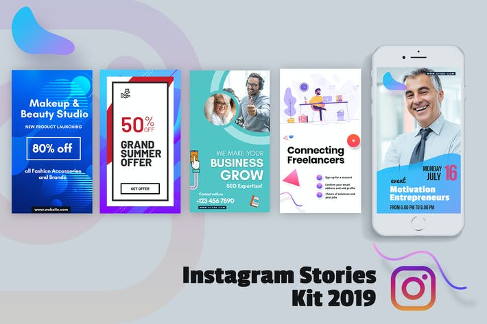 Thumbnail for Creative Instagram Stories Kit 2019