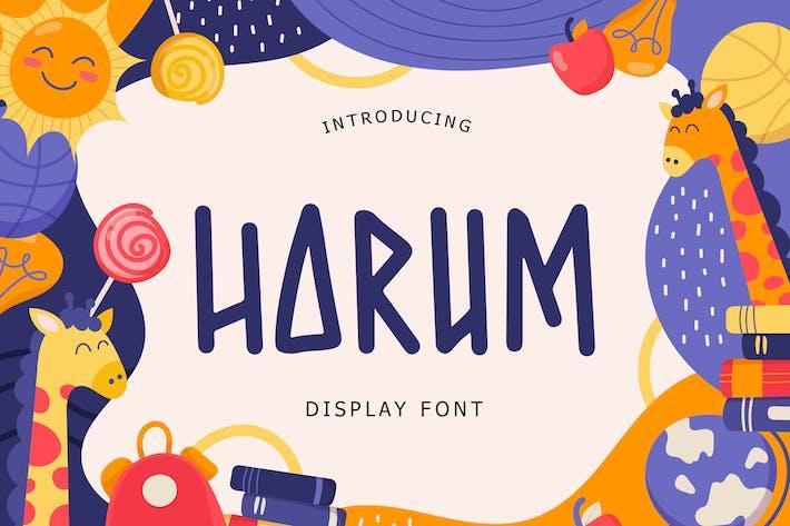 Thumbnail for Fuente de visualización Harum