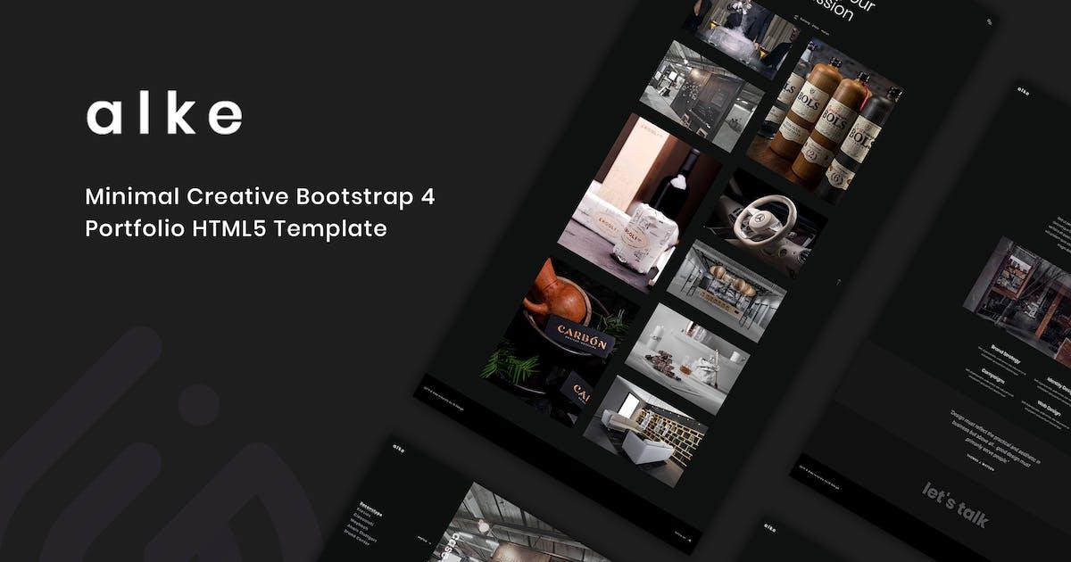 Download Alke - Minimal Creative Portfolio Template by IG_design