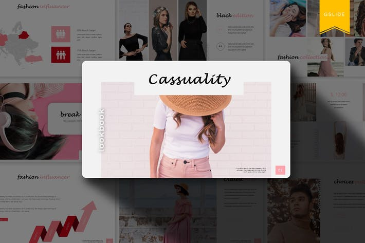 Casssuality | Google Slides Template
