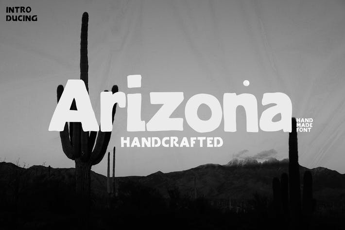 Thumbnail for Arizona Family Font