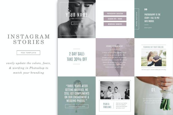 Hochzeit Instagram Stories Vorlagen