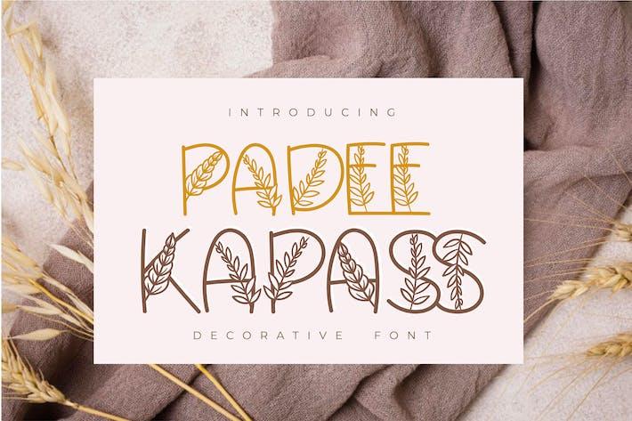 Padee Kapass   Fuente decorativa
