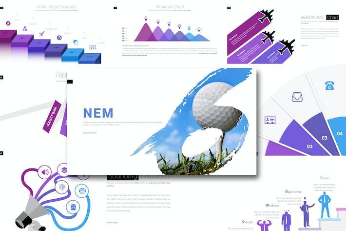 Thumbnail for Nem - Keynote Template