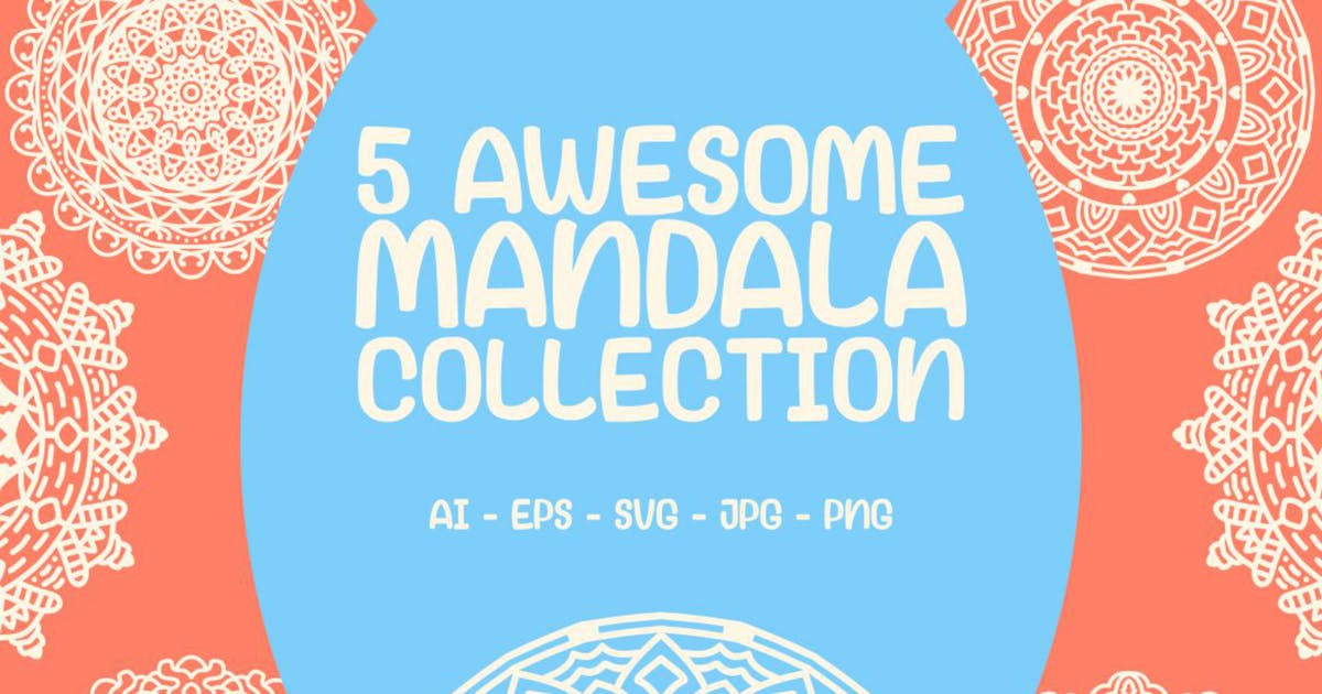 Download 5 Awesome Mandala Collection by garisman