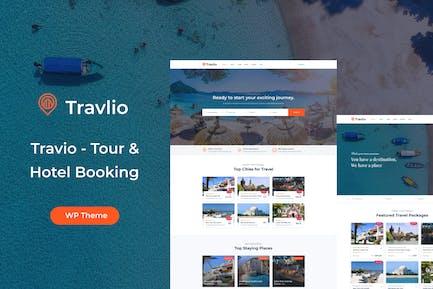 Travlio - Travel Booking WordPress Theme