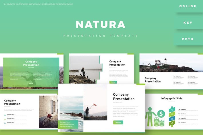 Thumbnail for Nature - Presentation Template