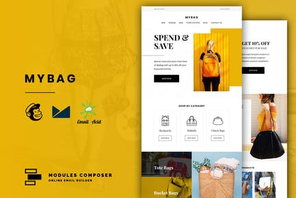 MyBag - E-commerce Responsive Email Template