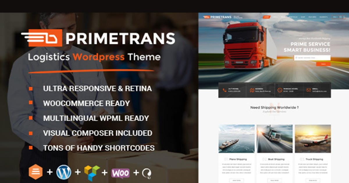 Download PrimeTrans | Logistics HTML Template by max-themes