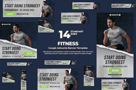 Fitness Google Ads-Banner