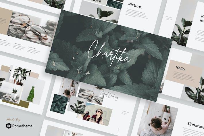 Thumbnail for Chartika - Keynote Template