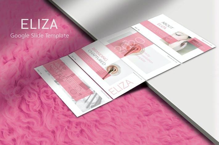 ELIZA Beauty - Cosmetic Google SlideTemplate
