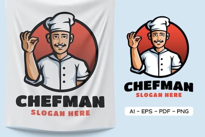Thumbnail for Chef Men - Logo Mascot