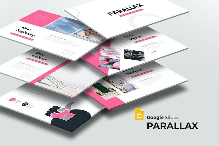 Parallax - Google Slides Template