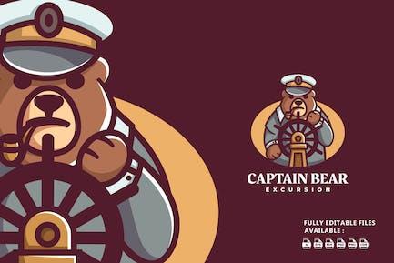 Captain Bear Zeichentrickfig
