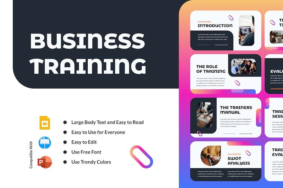 LAQU - Business Training Presentation