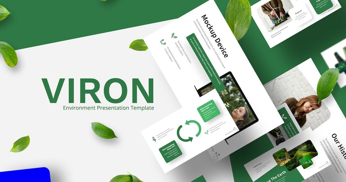 Download Viron - Environment Keynote Template by Kitpro