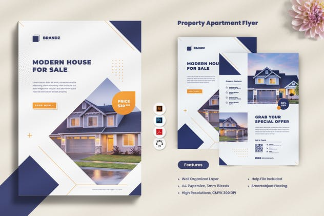 Property Apartment Promotion Flyer