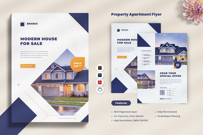 Property Apartment Promotion Flyer
