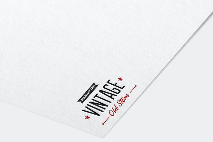 Thumbnail for Paper Logo Mock Up