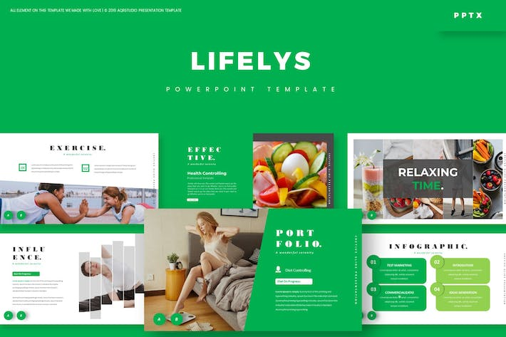 Thumbnail for Lifelys - Powerpoint Template