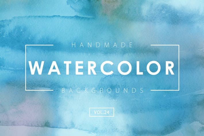 Thumbnail for Handmade Watercolor Backgrounds Vol.24