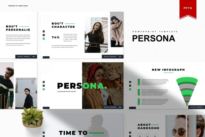Thumbnail for Persona | Powerpoint Template
