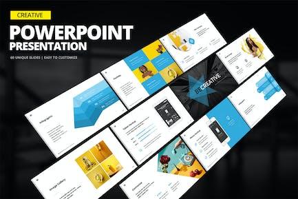 Kreative Powerpoint-Präsentation