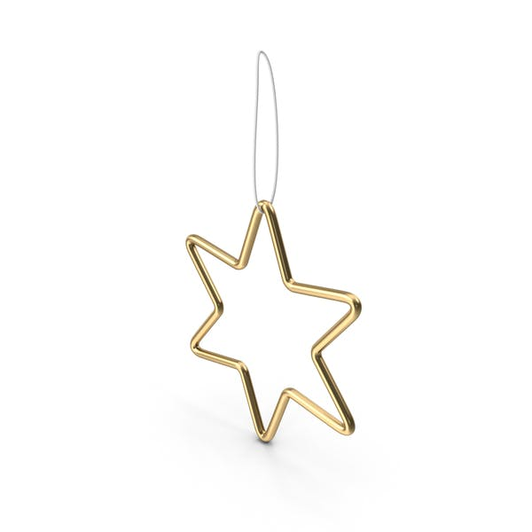 Cover Image for Gold Star Ornament