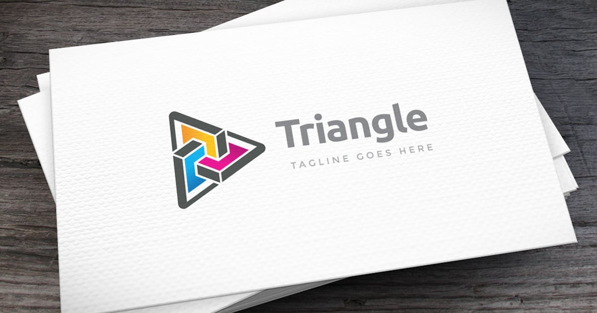 Download Triangle Logo Template by empativo