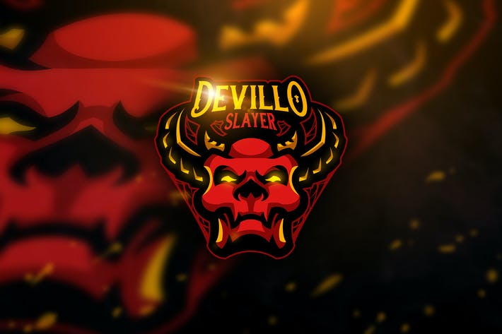 Cover Image For Devillo Slayer - Mascot & Esport Logo
