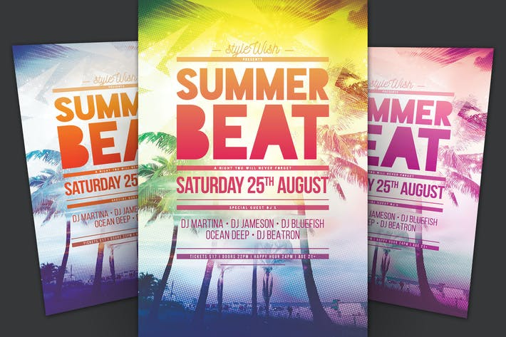Thumbnail for Summer Beat Flyer