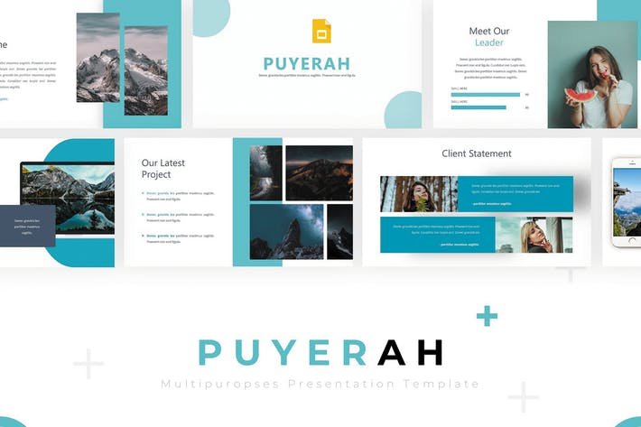 Thumbnail for Puyerah - Google Slides Template