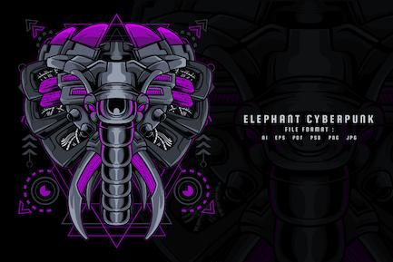 Elephant Cyberpunk