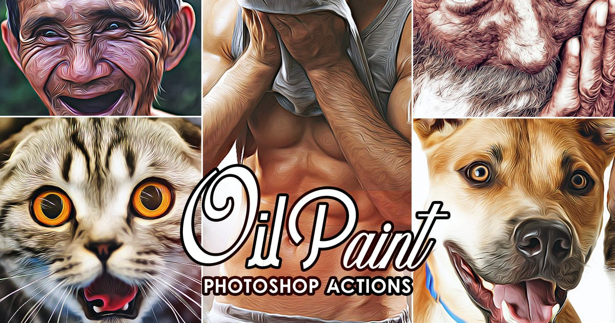 Download Oil Painting Photoshop Action by 2lagus