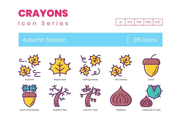Autumn Season Icon
