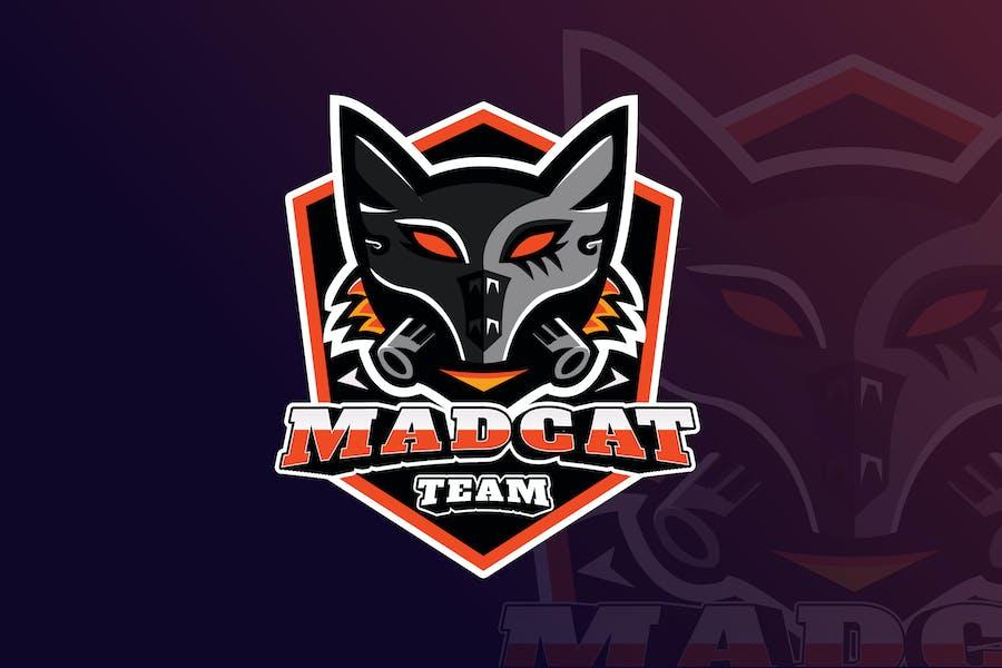 MadCat Gaming Mascot & eSports Logo
